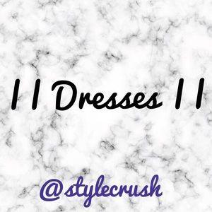 Mini, Midi, & Maxi Dresses